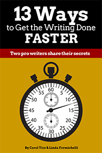 13 Ways to Get the Writing Done Faster